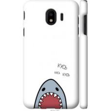 Чехол на Samsung Galaxy J4 2018 Акула (4870c-1487)