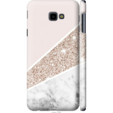 Чехол на Samsung Galaxy J4 Plus 2018 Пастельный мрамор (4342c-1594)
