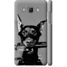 Чехол на Samsung Galaxy J5 (2016) J510H Доберман (2745c-264)