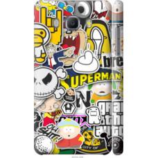 Чехол на Samsung Galaxy J5 (2016) J510H Popular logos (4023c-264)