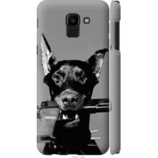 Чехол на Samsung Galaxy J6 2018 Доберман (2745c-1486)