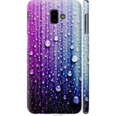 Чехол на Samsung Galaxy J6 Plus 2018 Капли воды (3351c-1586)