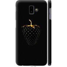 Чехол на Samsung Galaxy J6 Plus 2018 Черная клубника (3585c-1586)