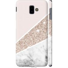 Чехол на Samsung Galaxy J6 Plus 2018 Пастельный мрамор (4342c-1586)