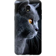 Чехол на Samsung Galaxy J7 2018 Красивый кот (3038u-1502)
