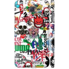 Чехол на Samsung Galaxy J7 J700H Many different logos (4022c-101)