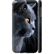 Чехол на Samsung Galaxy J7 J730 (2017) Красивый кот (3038c-786)