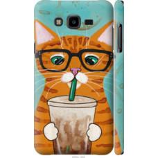 Чехол на Samsung Galaxy J7 Neo J701F Зеленоглазый кот в очках (4054c-1402)