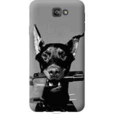 Чехол на Samsung Galaxy J7 Prime Доберман (2745u-610)