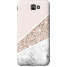 Чехол на Samsung Galaxy J7 Prime Пастельный мрамор (4342u-610)