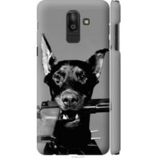 Чехол на Samsung Galaxy J8 2018 Доберман (2745c-1511)