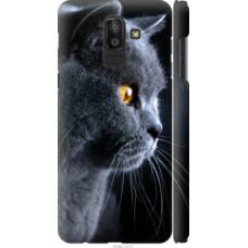 Чехол на Samsung Galaxy J8 2018 Красивый кот (3038c-1511)