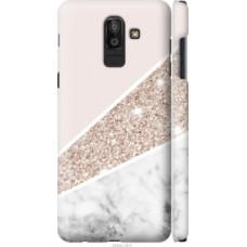 Чехол на Samsung Galaxy J8 2018 Пастельный мрамор (4342c-1511)
