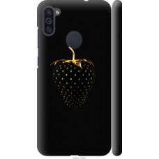 Чехол на Samsung Galaxy M11 M115F Черная клубника (3585c-1905)