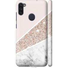 Чехол на Samsung Galaxy M11 M115F Пастельный мрамор (4342c-1905)