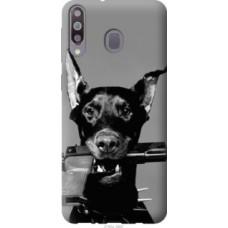 Чехол на Samsung Galaxy A40s A3050 Доберман (2745u-2058)