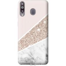 Чехол на Samsung Galaxy A40s A3050 Пастельный мрамор (4342u-2058)