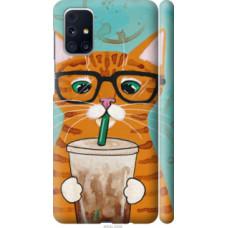 Чехол на Samsung Galaxy M31s M317F Зеленоглазый кот в очках (4054c-2055)