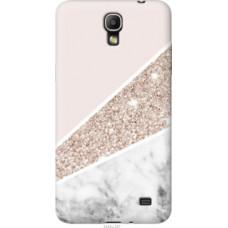 Чехол на Samsung Galaxy Mega 2 Duos G750 Пастельный мрамор (4342u-327)