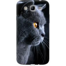 Чехол на Samsung Galaxy Mega 5.8 I9150 Красивый кот (3038u-309)