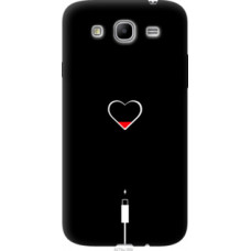Чехол на Samsung Galaxy Mega 5.8 I9150 Подзарядка сердца (4274u-309)