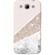 Чехол на Samsung Galaxy Mega 5.8 I9150 Пастельный мрамор (4342u-309)