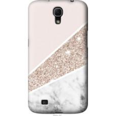 Чехол на Samsung Galaxy Mega 6.3 i9200 Пастельный мрамор (4342u-167)