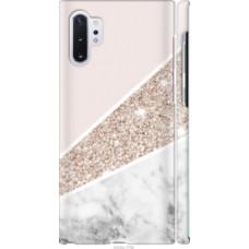 Чехол на Samsung Galaxy Note 10 Plus Пастельный мрамор (4342c-1756)