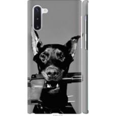 Чехол на Samsung Galaxy Note 10 Доберман (2745c-1718)