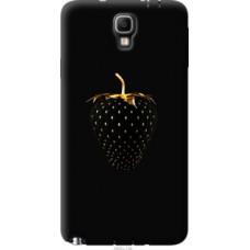 Чехол на Samsung Galaxy Note 3 Neo N7505 Черная клубника (3585u-136)