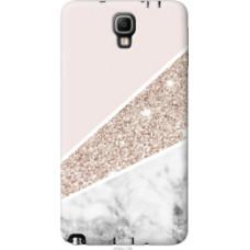 Чехол на Samsung Galaxy Note 3 Neo N7505 Пастельный мрамор (4342u-136)