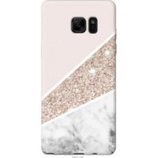 Чехол на Samsung Galaxy Note 7 Duos N930F Пастельный мрамор (4342u-346)