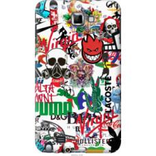 Чехол на Samsung Galaxy Note i9220 Many different logos (4022u-316)