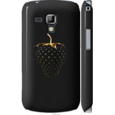 Чехол на Samsung Galaxy S Duos s7562 Черная клубника (3585c-84)