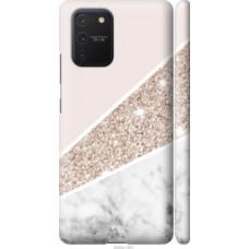 Чехол на Galaxy S10 Lite 2020 Пастельный мрамор (4342c-1851)