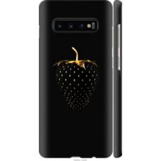 Чехол на Samsung Galaxy S10 Plus Черная клубника (3585c-1649)