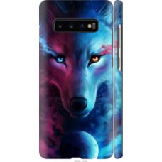 Чехол на Samsung Galaxy S10 Plus Арт-волк (3999c-1649)
