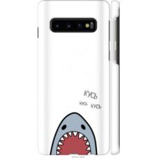 Чехол на Samsung Galaxy S10 Акула (4870c-1640)