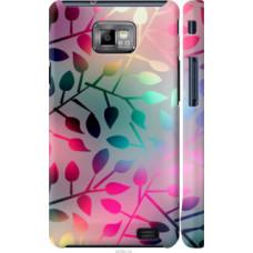 Чехол на Samsung Galaxy S2 Plus i9105 Листья (2235c-71)