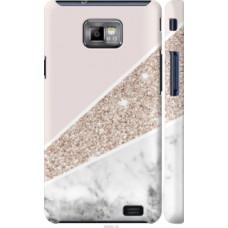 Чехол на Samsung Galaxy S2 Plus i9105 Пастельный мрамор (4342c-71)