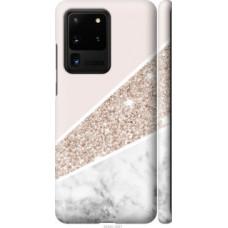Чехол на Samsung Galaxy S20 Ultra Пастельный мрамор (4342c-1831)