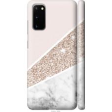Чехол на Samsung Galaxy S20 Пастельный мрамор (4342c-1824)