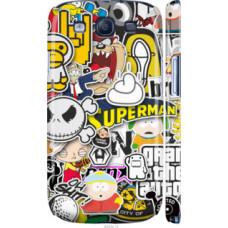 Чехол на Samsung Galaxy S3 i9300 Popular logos (4023c-11)