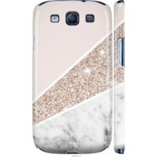 Чехол на Samsung Galaxy S3 i9300 Пастельный мрамор (4342c-11)