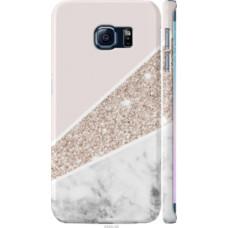 Чехол на Samsung Galaxy S6 Edge G925F Пастельный мрамор (4342c-83)