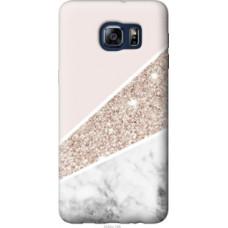 Чехол на Samsung Galaxy S6 Edge Plus G928 Пастельный мрамор (4342u-189)