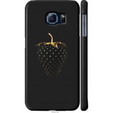 Чехол на Samsung Galaxy S6 G920 Черная клубника (3585c-80)