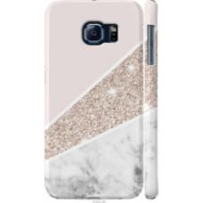 Чехол на Samsung Galaxy S6 G920 Пастельный мрамор (4342c-80)