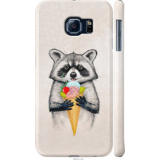 Чехол на Samsung Galaxy S6 G920 Енотик с мороженым (4602c-80)