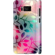 Чехол на Galaxy S8 Plus Листья (2235c-817)